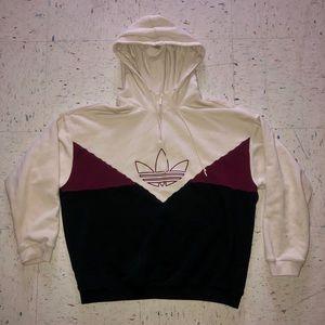 Women's Adidas CLRDO OG Hoodie - Beige M